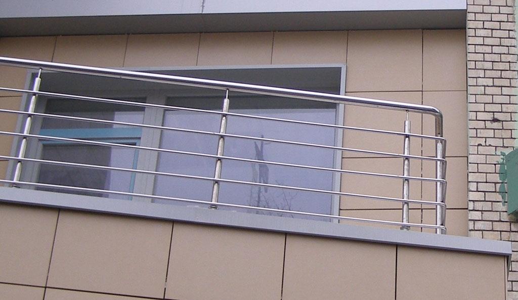 Без категории - ограждения лестницы из нержавеющей стали, ба.